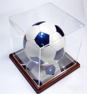 サッカーボールケース木製